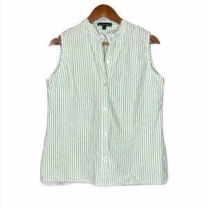 Kiel James Patrick sleeveless Oxford shirt